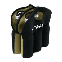 neoprene Six - Pack beer bottle bag