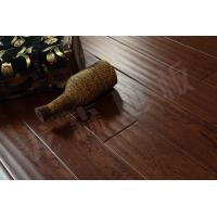 Buy cheap white Oak wood flooring, engineered oak with handscraped surface from wholesalers