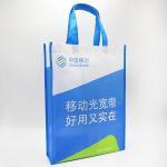 Buy cheap 2018 Factory Custom Logo Printed Cheap Reusable sewing Non Woven Bag Tote Bag from wholesalers