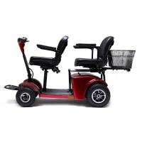 Buy cheap Two seats Electric Mobility Travel Scooter For Elder , Handicapped Folding Electric scooter from wholesalers