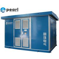 Buy cheap 22 KV - Class Blue Prefabricated Substations Movable Compact Transformer Substation from wholesalers