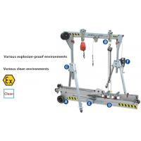 Buy cheap Durable Aluminum Gantry Crane 500kg Portable CE Certificated Easy Installation from wholesalers