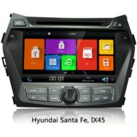 Buy cheap 2 Din Car Gps Navigation System For Hyundai Ix45 / New Santa Fe , Car Audio Dvd Player from wholesalers