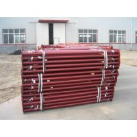 Buy cheap Telescopic tubular props, adjustable decking props, prop with covered thread from wholesalers