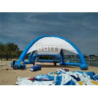 Buy cheap Outdoor Airtight Big Inflatable Dome Tent For Event , Inflatable Beach Tent from wholesalers