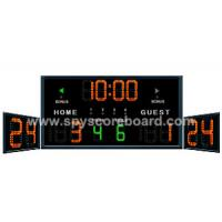 Buy cheap Electronic Scoreboard and LED Shot Clock for Basketball Game from wholesalers