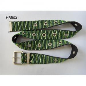 Woven canvas belt, cotton belt, jacquard webbing, waistband