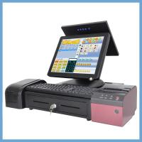 Buy cheap 5 Wire True Flat Resistance Pos Cash Register With WIFI And MSR 15 Inch from wholesalers