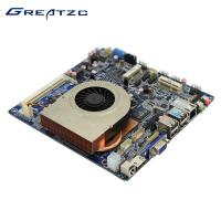 Buy cheap Intel I5 Mini ITX Motherboard With CPU HD 4K Playing 2GB NVIDIA GT 730 2 SATA Dual Display from wholesalers