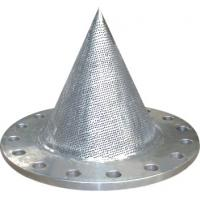 Buy cheap Stainless Steel Conical Strainer For Water Meter Made By SS304 / Flange Strainer from wholesalers