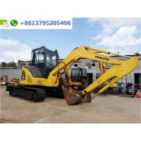 Buy cheap Good Condition 5 Ton Used Mini Excavator Komatsu PC55MR Digger With Air Conditioner from wholesalers