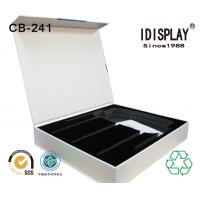 Buy cheap High End Rigid Cardboard Magnetic Closure Gift Box With Cut Out Eva / Foam Insert For Phone from wholesalers