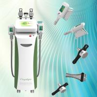 Buy cheap Newest advanced 5 handles cryo cavitation rf latest lipo ultrasonic liposuction machine from wholesalers