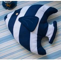 Buy cheap MEDITERRANEAN-STYLE SERIES TROPICAL FISH-SHAPED PILLOW CUSHION from wholesalers