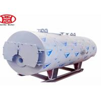 Buy cheap Oil Gas Fuel Steam Heat Boiler , Fire Tube Steam Boiler For Industrial pringting dyeing mill from wholesalers