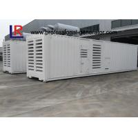 Buy cheap Container Type 1000kw Diesel Generator Set with Cummins KTA50-G3 CE Standard , Low Noise product