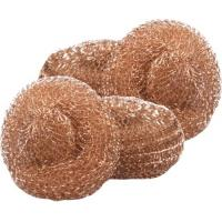 Buy cheap 100% Copper Mesh Scourers,Copper Scouring Pads,Copper Scrubber,Brass Cleaning Ball from wholesalers
