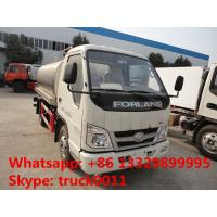 Buy cheap forland 5,000L milk tank truck for sale, hot sale stainless steel liquid food tank truck from wholesalers
