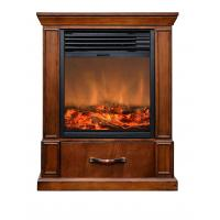 Buy cheap 13 insert electric fireplace heater log LED flame GM2000-13 with MDF frame from wholesalers