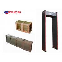 Buy cheap Walkthrough Metal Detector Door frame excellent system for schools from wholesalers