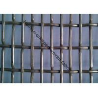 Buy cheap Decorative Crimped Wire Mesh , Architectural Steel Mesh In Gold Color For Office from wholesalers