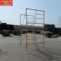 Buy cheap Masonry Frame Drop Lock Bracing Scaffolding Section Frame product