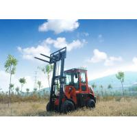 Buy cheap New Condition FD35Y 3.5T All Terrain Forklift Stable Operation With Quick Hitch from wholesalers