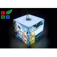 Buy cheap 40 Watt LED Cube Light Box 3030 SMD LED Module Light With Ceiling Hanging Kits from wholesalers