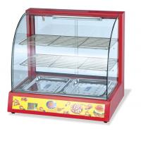 Buy cheap Cured Glass Portable Display Food Warmer Showcase 50 - 300 Degree Temperature from wholesalers