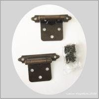 Buy cheap Ac Color High Polished  Butterfly Cabinet Hinges Beautiful Smooth Surface from wholesalers