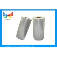 Custom Printed Polyolefin Heat Shrink Film , Biodegradable Shrink Film For Stationery