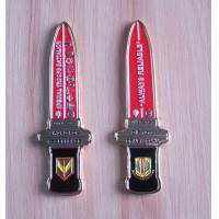 Buy cheap personalized sword shape zinc alloy Metal coin from wholesalers