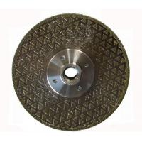 Buy cheap Single Side Star Electroplated Diamond Grinding Wheels / Electroplated Diamond Discs  from wholesalers