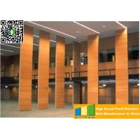 Buy cheap Powder Coated Meeting Room Sound Proof Partitions / Panels With Track System from wholesalers