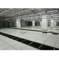 Buy cheap Non - Foaming Anti Static Raised Access Flooring All Steel HPL Finish Raised Floor from wholesalers