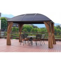 Buy cheap Leisure Garden Gazebo Exhibition Tent Outdoor Pavilion Waterproof Sunshine Wedding Metal Roof Pavilion from wholesalers