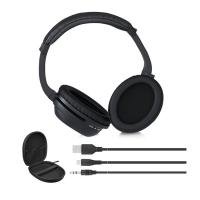 Buy cheap over ear bluetooth headphone and wireless earphone active noise cancelling headphones with mic from wholesalers