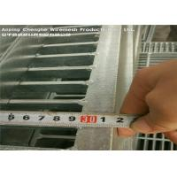 Buy cheap 100 X 10 Duty Industrial Floor Grates Ramps Docks Non - Slip Stress Resistance product