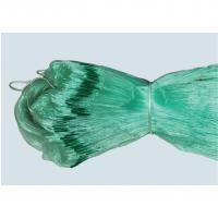 Buy cheap PE Polyethylene Braided Commercial Knotted or Knotless Green Fishing Net from wholesalers