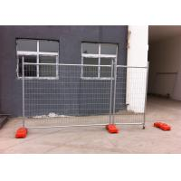 Buy cheap temporary fence hire gold coast cost ,temporary fence panels for sale 2100mm x 2400mm width made in china as4687-2007 from wholesalers