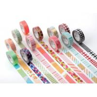 Buy cheap Customized pattern Washi masking paper tape cheap washi masking tape from wholesalers