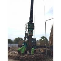 Buy cheap Overall Transport Hydraulic Rotary Bored Piling Rig Machine , Foundation Piling Equipment Hire from wholesalers