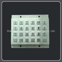 Buy cheap Waterproof Custom Keyboard Pad Metal Material For Door Access / Express Cabinet from wholesalers