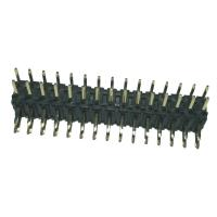 Right  Angle 	Pin Header  2mm Pitch Connector , PA9T Black Double Row