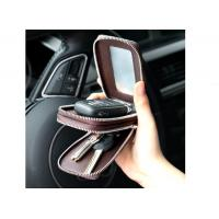 Buy cheap Leather multi-function key chain trend car bag male small key storage bags from wholesalers