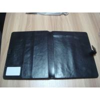 Buy cheap Protective Foldable PU checkbook, log book cover, hotel Hotel Information Folder from wholesalers