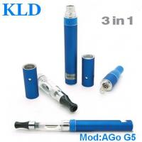 Buy cheap Ago g5 portable vape pen dry herb vaporizer pen Green health e cigarette from wholesalers