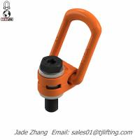 Buy cheap drop forged hardware alloy steel/carbon steel lifting hoist 80G forged swivel ring link from wholesalers