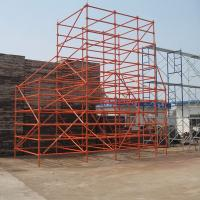 Buy cheap High Quality Hot Dipped Galvanized Ringlock Scaffolding System product