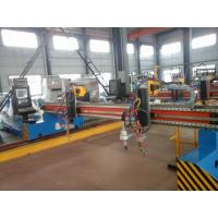 Buy cheap 2 Flame Cutting Torches CNC Cutting Machine For Steel Plate Automatic Cut Gantry Type from wholesalers